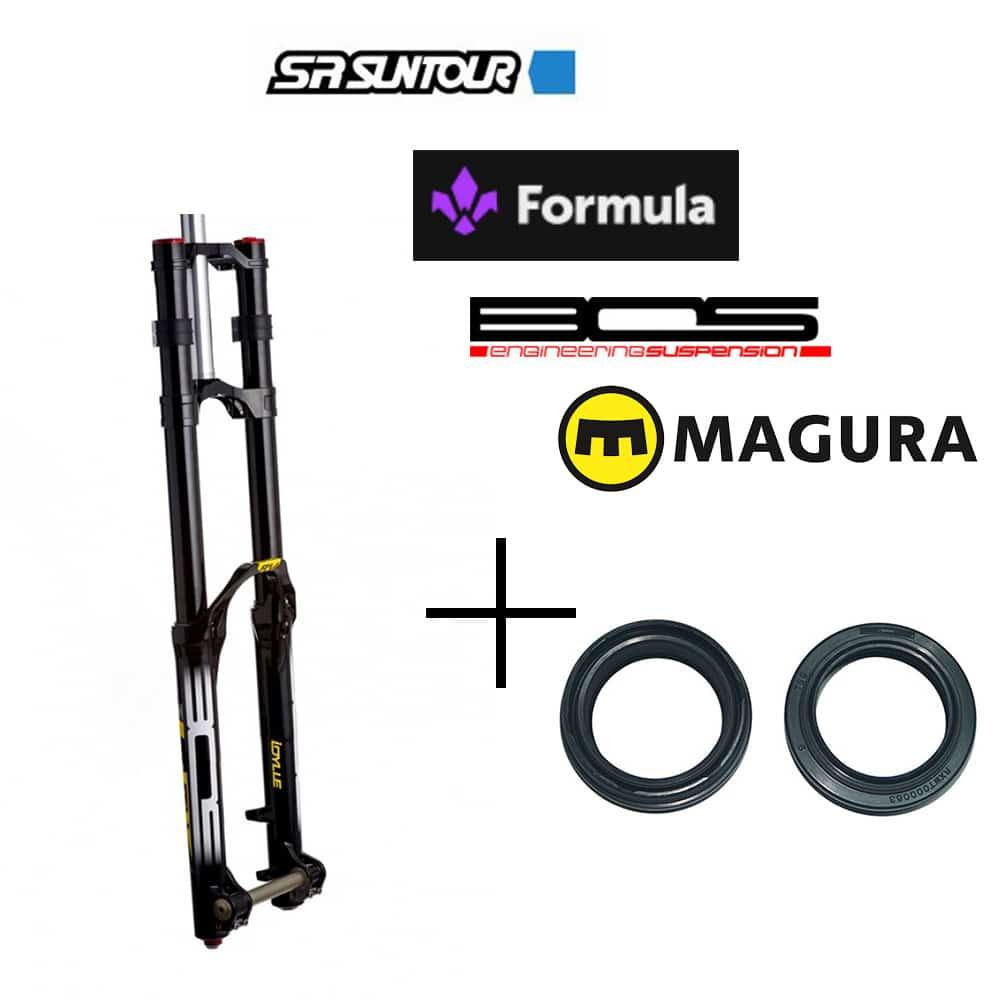 Révision fourche Bos, Formula ou Magura avec joints spis d'origine