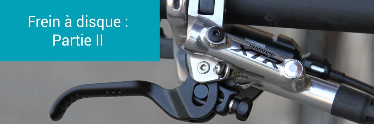 Réglages et entretiens d'un frein à disque hydraulique