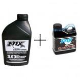Pack Huile Fox pour vidange de fourche