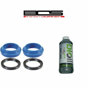 Pack joint Enduro Bearings 36 mm + huile BOS pour Idylle