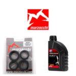 Pack joints spis + huile pour fourche Marzocchi 32 mm