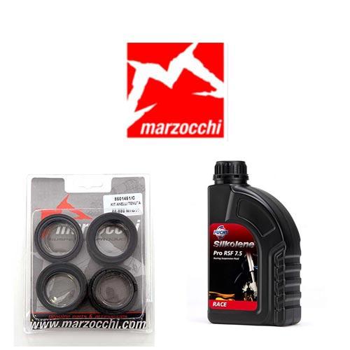 Pack joints spis + huile pour fourche Marzocchi 38 mm