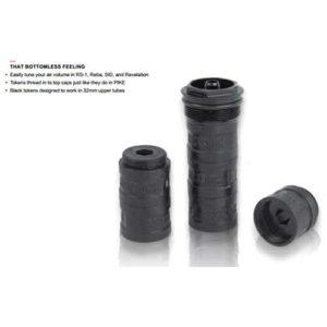 Cales Rock Shox Tokens 32 mm - Explications
