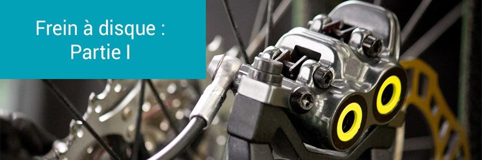 Principe et constitution d'un frein à disque hydraulique