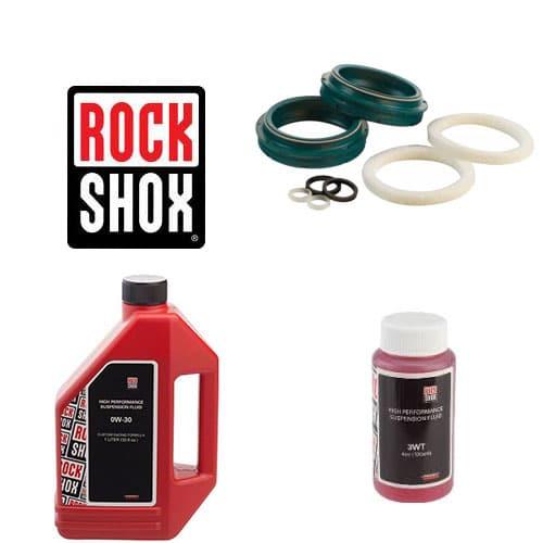 Pack joints spis SKF + huile pour vidange fourche Rock Shox 35 mm