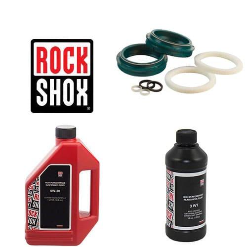 Pack joints spis SKF + huiles pour vidange fourche Rock Shox 35 mm