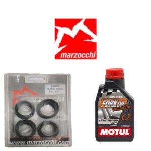Pack joints spis + huile Motul pour Marzocchi 30 mm