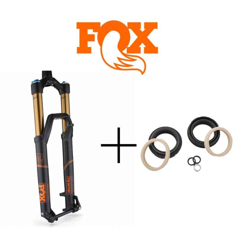 Entretien fourche Fox Racing Shox avec joints spys d'origine
