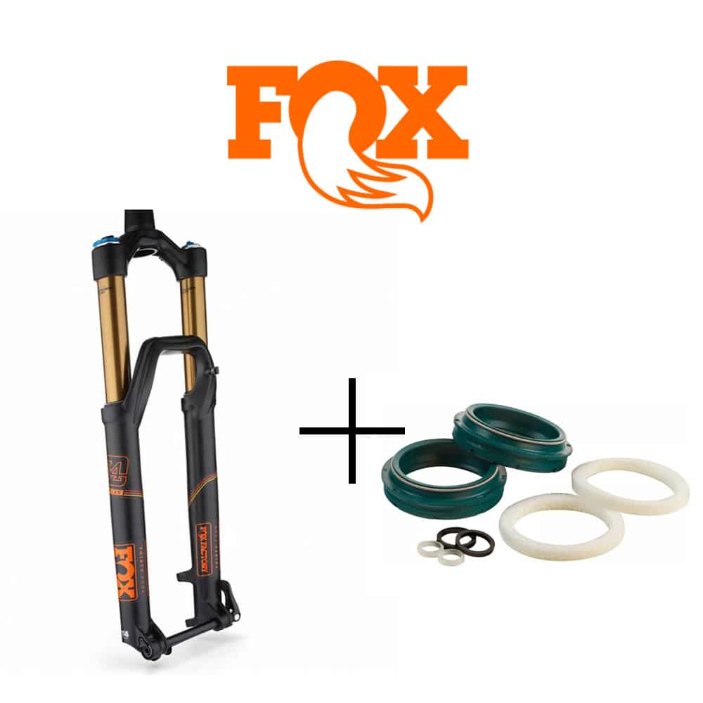 Vidange fourche Fox Racing Shox avec joints spis SKF Low Friction