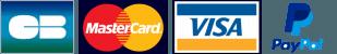 Paiements sécurisés par carte bancaire ou par Paypal