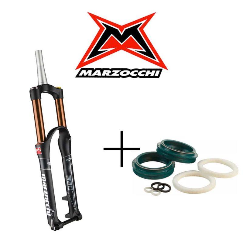 Révision fourche Marzocchi avec joints racleurs SKF Low Friction