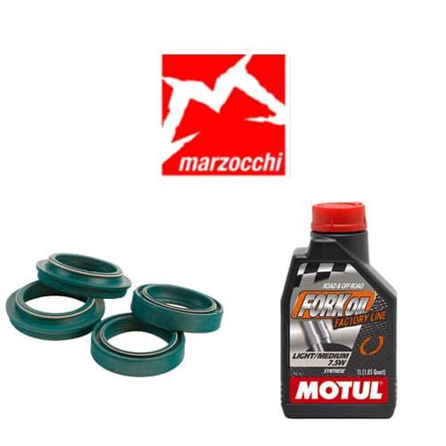 Pack joints spis SKF + huile Motul 7,5WT pour vidange fourche Marzocchi