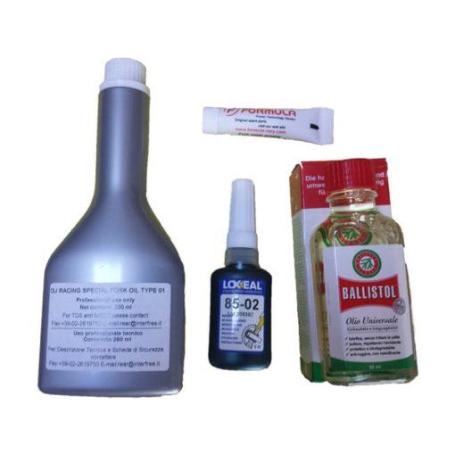Pack huiles pour vidange des fourches Formula 33 & 35