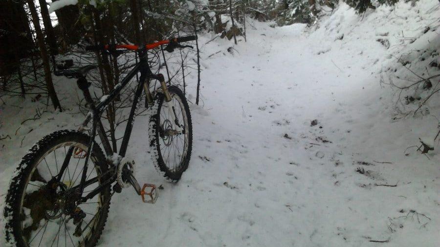 Ride VTT hivernale