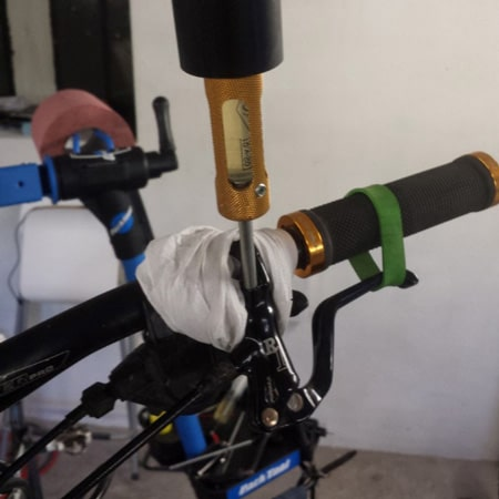 Formation purge de frein hydraulique VTT